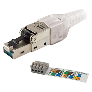 RJ45 10G Field Plugs - Networking SCP Structured Cable Products CAT5 CAT6 CAT7 HDMI