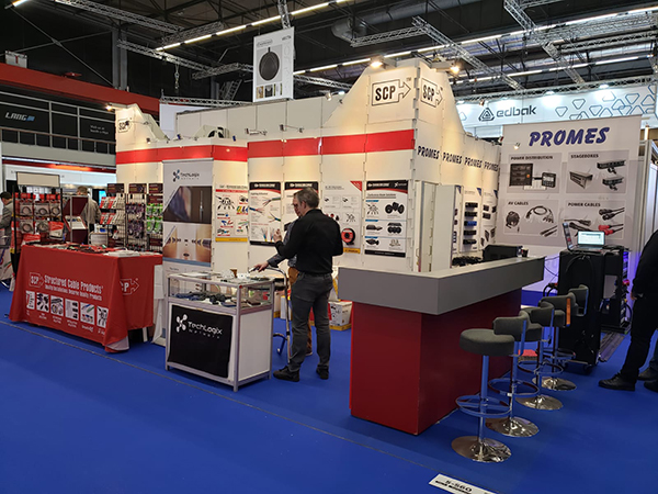 2020 - Integrated Systems Europe Tradeshow - Amsterdam, NL -  SCP Structured Cable Products CAT5 CAT6 HDMI Dania Beach Florida