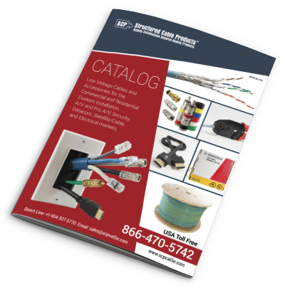 Product Catalog SCP Structured Cable Products CAT5 CAT6 HDMI