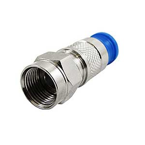 F-Type Connectors SCP Structured Cable Products CAT5 CAT6 CAT7 HDMI