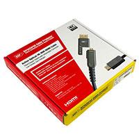 HDMI-Cables 30 M/98 FT Active Optical HDMI Cable 4K@60 4:4:4 2160p HDR SNUG-TITE GRIP