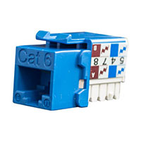 Networking CAT6 90 DEGREE KEYSTONE JACKS SCP Structured Cable Products