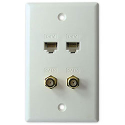 Wallplates Modules SCP Structured Cable Products
